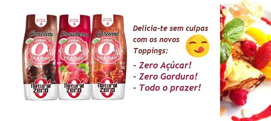 0% Açúcar 100% de Sabor!