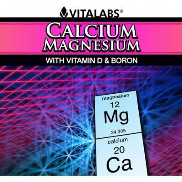 Calcium & Magnesium - 120 cápsulas