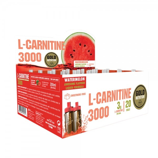 L-Carnitine 3000 Gold Nutrition - Melancia