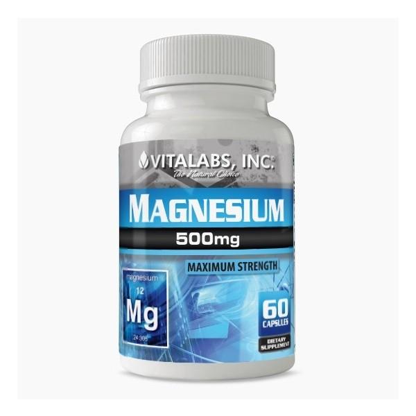 Magnesium 120 caps Vitalabs