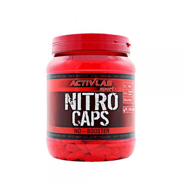 Nitro Caps 240 caps Activlab