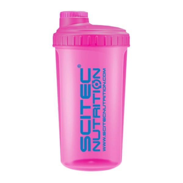 Shaker Neon Rosa 750ml Scitec Nutrition