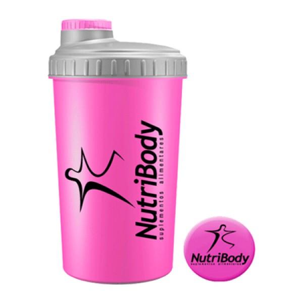 Shaker NutriBody Rosa 750ml