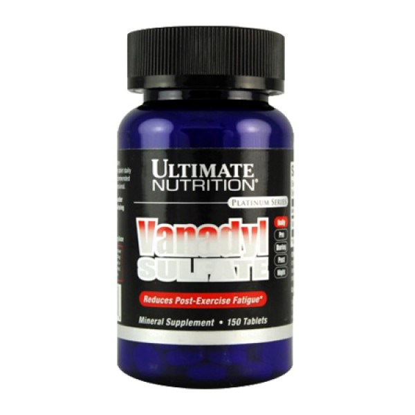 Vanadyl Sulfate 10mg 75 Comp Ultimate Nutrition