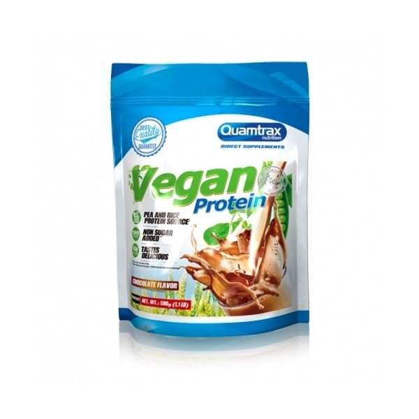 Vegan Protein - 500g Quamtrax