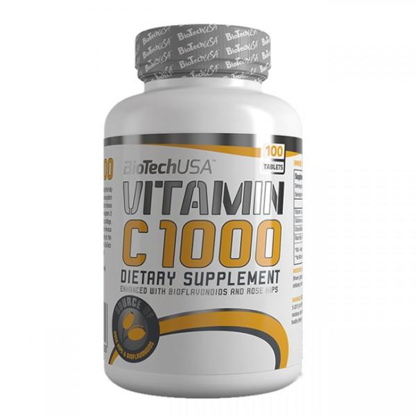 Vitamina C 1000mg 100 Comp BioTech