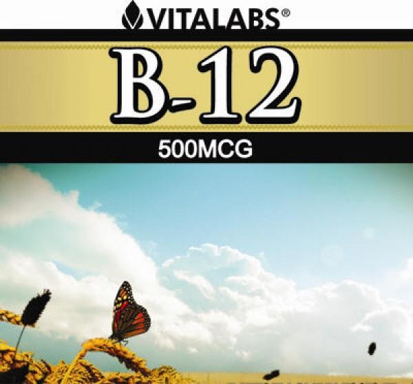 Vitamin B12 - 100 Cápsulas